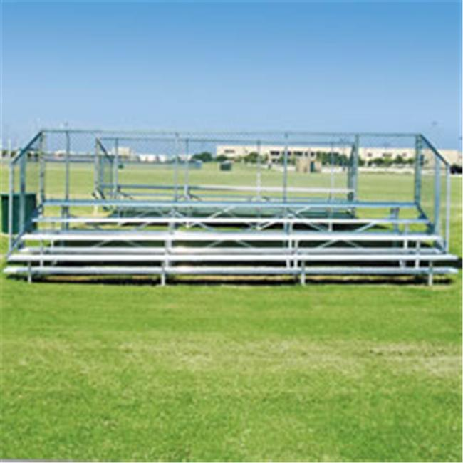 Ssg Bsn NB0421 4 Row 21 Standard Bleacher *seats 56* Benches-Bleachers by Ssg - Bsn