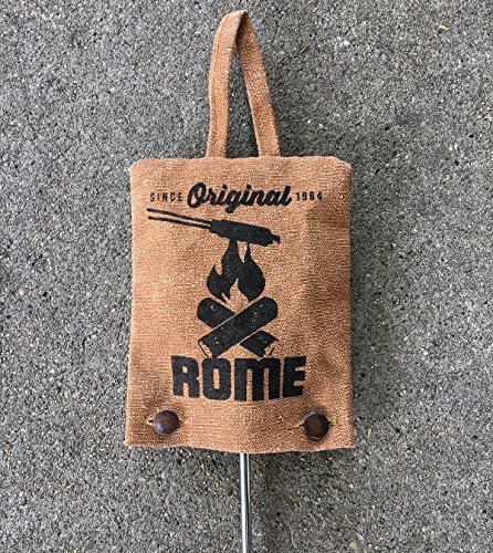 Rome Industries Inc Beige 7.5 x 6 1997 Single Pie Iron Storage Bag