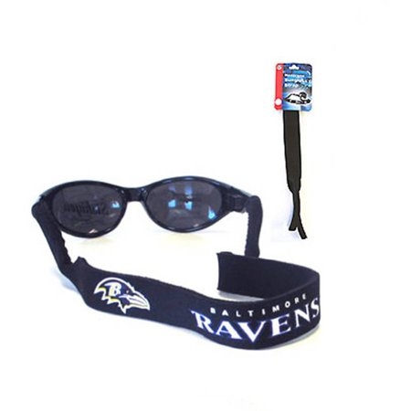 6a80872835 NFL Baltimore Ravens Neoprene Croakies Sunglass Strap - Walmart.com