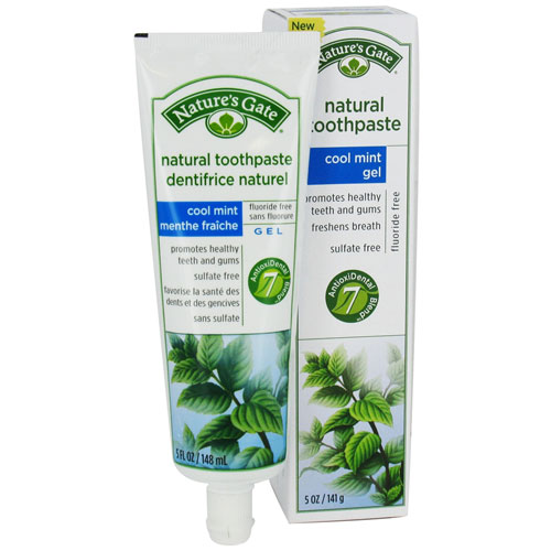 Nature'S Gate Natural Toothpaste Cool Mint Gel - 5 Oz
