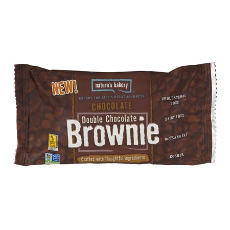 Natures Bakery Double Chocolate Brownie Chocolate  2 0 Oz