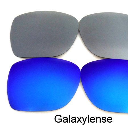 1712b96cf9 Galaxylense - Galaxy Replacement Lenses For-Oakley Holbrook Sunglasses  Blue Titanium Polarized 100%UVAB - Walmart.com