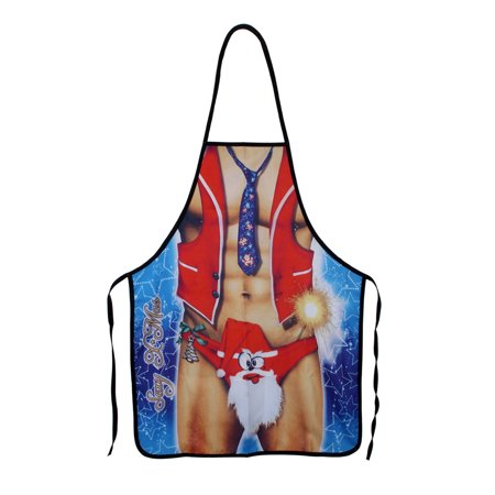 NK HOME Christmas Theme Apron Adults Women and Men Party Cooking Apron Kitchen Supplies (Themes For Parties For Adults)