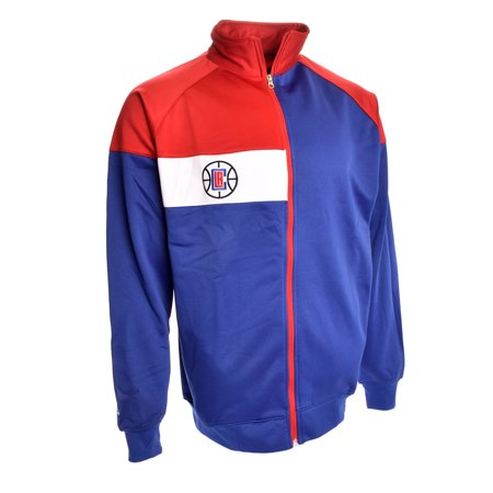 Los Angeles Clippers Color Block Track Jacket  Royal