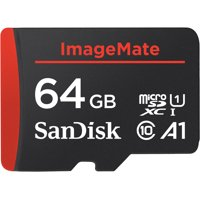 SanDisk 64GB ImageMate microSDXC UHS-1 Memory Card with Adapter - C10, U1, Full HD, A1 Micro SD Card