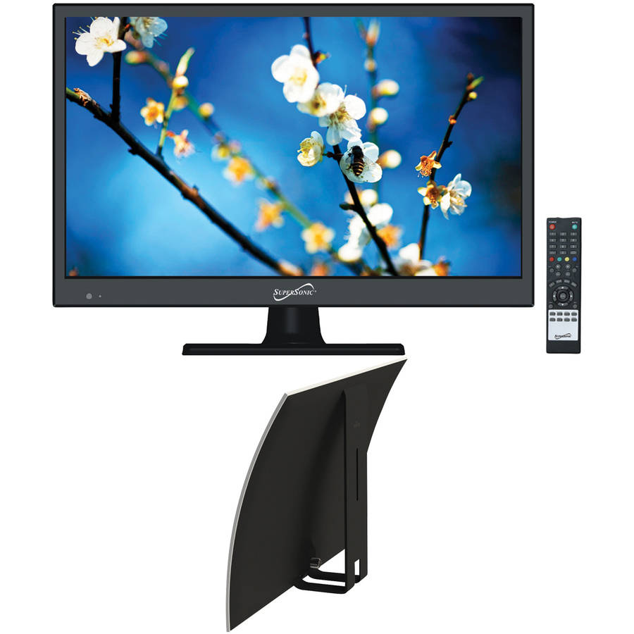 "Supersonic 15.6"" Class - HD, LED TV - 720p, 60Hz (SC-1511) and Mohu Curve 30 Indoor HDTV Antenna"