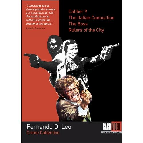 Fernando Di Leo: Crime Collection - Caliber 9 / The Italian Connection / The Boss / Rulers Of The City (Italian)