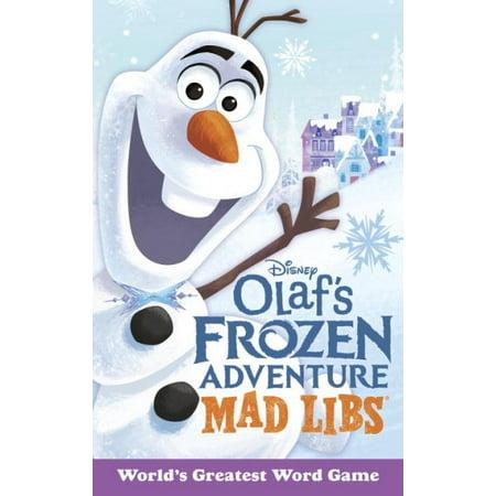 Olafs Frozen Adventure Mad Libs