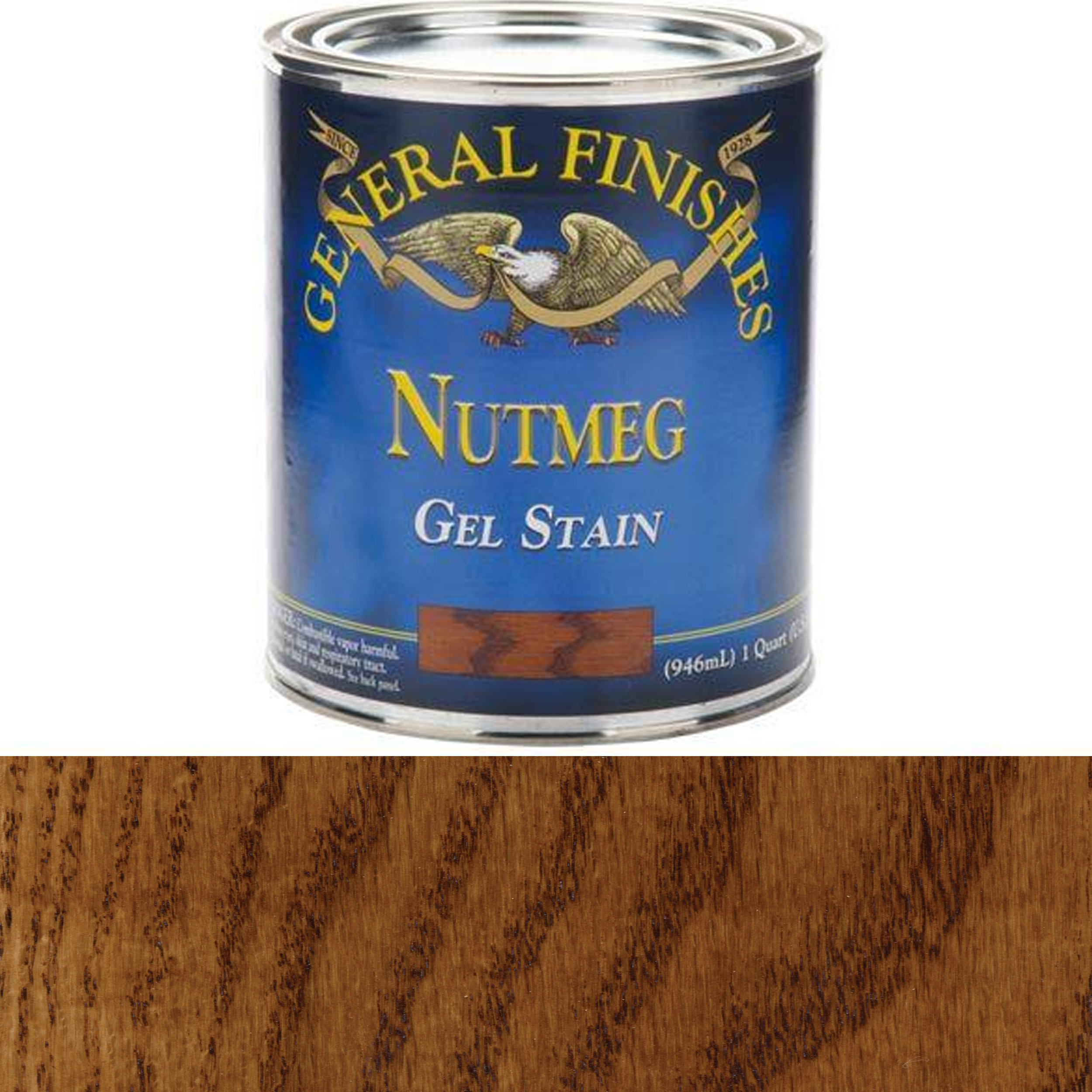 Nutmeg Gel Stain, Quart