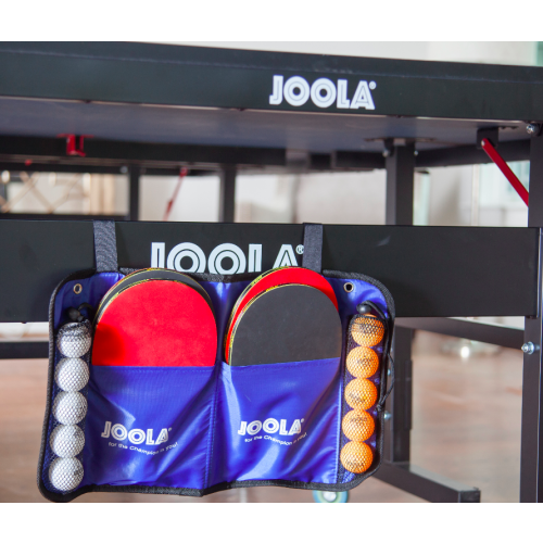 JOOLA Family Set Official Size Table Tennis Bundle with Carrying Case, 4ct Rackets, 10ct Balls