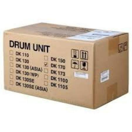 Kyocera DK-170 Black Drum Unit - Genuine Mita Brand - Estimated Yield 100,000 pages 302LZ93061
