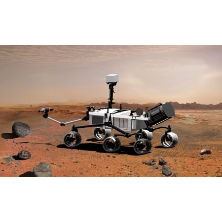 Poster Set Science Lab - Mars Science Laboratory Poster Print