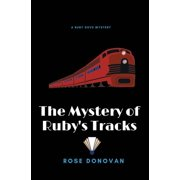 Ruby Dove Mysteries: The Mystery of Ruby's Tracks (Large Print) (Paperback)(Large Print)