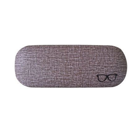Men Women Kids Leather Eye Glasses Hard Shell Protector Reading Eyewear Case Sunglasses Box Case (Womens Sunglasses Case)