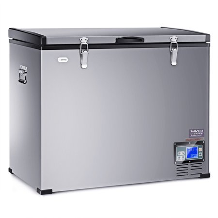121-Quart Portable Electric Car Cooler Refrigerator / Freezer Compressor