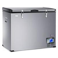 121-Quart Portable Electric Car Cooler Refrigerator / Freezer Compressor Camping