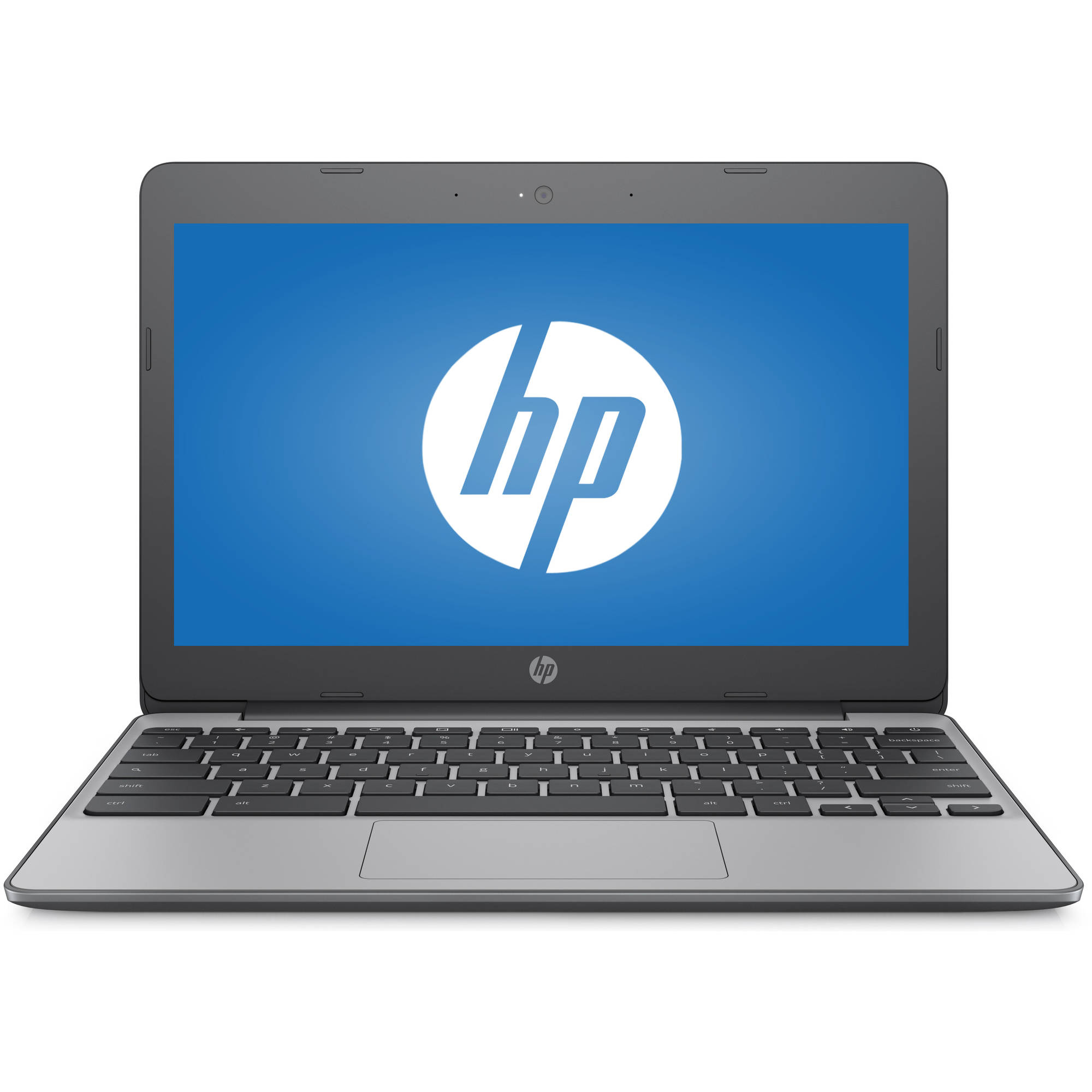 "HP 11-v010wm 11.6"" Chromebook, Chrome, Intel Celeron N3060 Processor, 4GB RAM, 16GB"