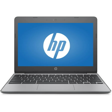 "HP (11-v010wm) 11-v010wm 11.6"" Chromebook, Chrome, Intel Celeron N3060 Processor, 4GB RAM, 16GB eMMC Drive"