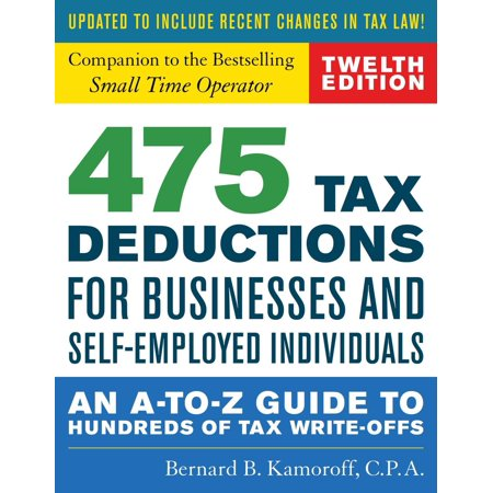 475 Tax Deductions for Businesses and Self-Employed Individuals -