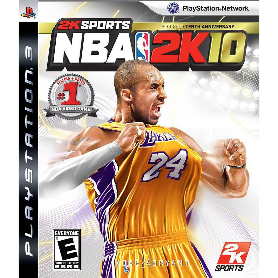 NBA 2K10 : Tenth Anniversary Edition PRE-OWNED (PlayStation 3)