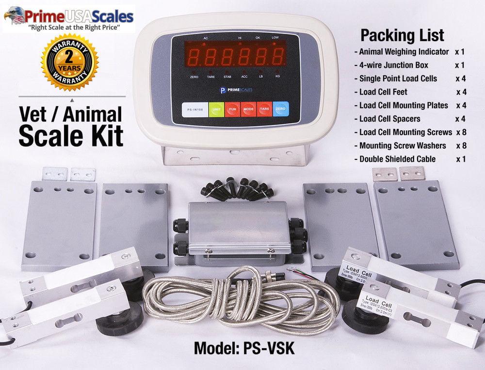 Livestock Scale Built it yourself kit Floor scale kit Vet scale 5000 lb