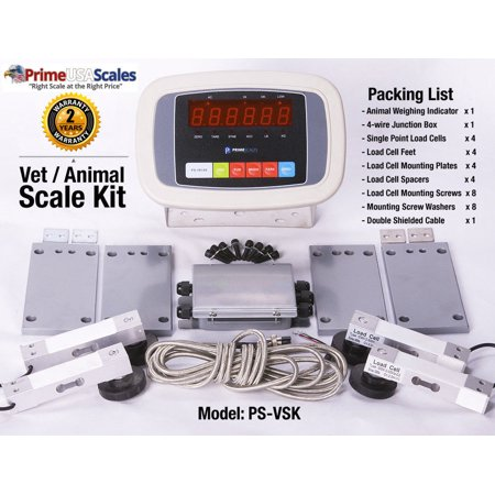 Animal Vet Scale (Vet Scale Kit Animal Scale Kit Build Your Own Scale Livestock Scale 1,000)