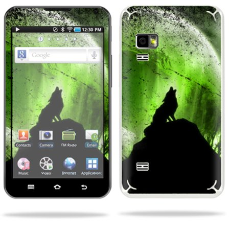 Mightyskins Protective Vinyl Skin Decal Cover for Samsung Galaxy Player 5.0 MP3 Player Android WiFi wrap sticker skins Howling Wolf - Halloween Wolf Howl Mp3