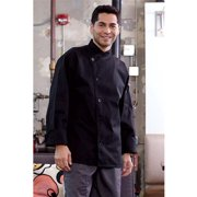 0482-0108 Rio Chef Coat in Black - 4XLarge