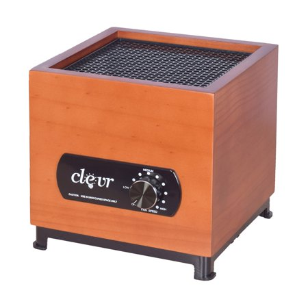 Clevr 8 Stage Wood Housing Ozone Generator Air Purifier, Filter, Ozone, Ionic, UV, Plasma, 1000 Sq ft (Houses Under 1000 Sq Ft For Sale)