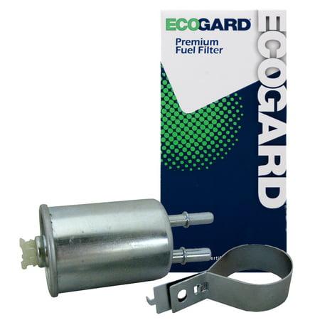 ECOGARD XF65768 Engine Fuel Filter - Premium Replacement Fits Chevrolet Cobalt / Saturn Ion / Pontiac G5, G3, G3 - Cobalt Fuel Level