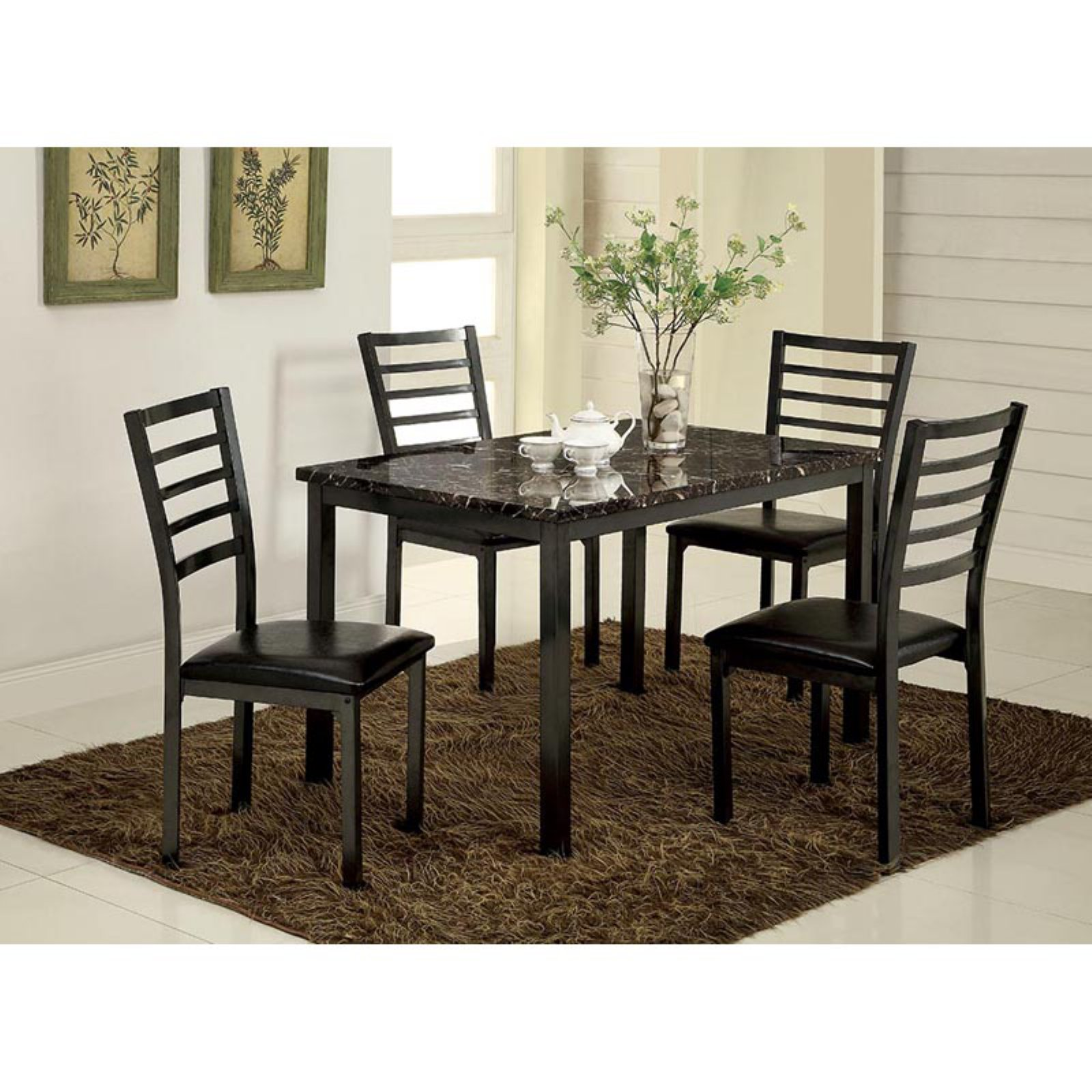 Furniture of America Katzman 48 in. Dining Table