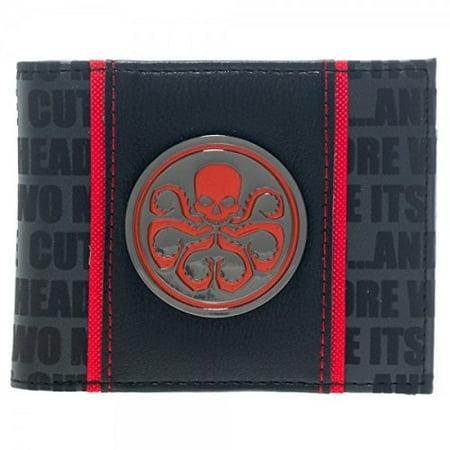 Jane Marvel Wallet (Wallet - Marvel - Hydra Metal Badge Bi-Fold New Licensed Gifts)