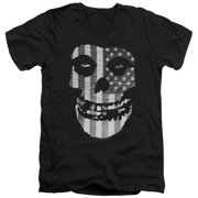 Misfits Fiend Flag Mens V-Neck Shirt