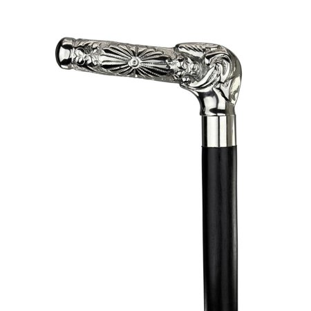- Design Toscano Empress Collection: Beaux Arts Solid Hardwood Walking Stick