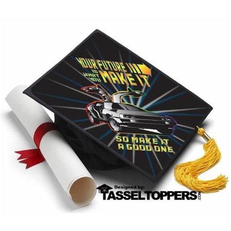 Back To The Future Grad Cap Tassel Topper