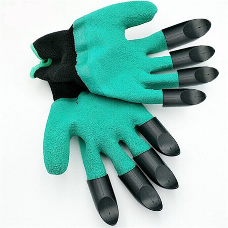 Gardening Gloves for Garden Digging Planting with 8 Claws Protection Gloves - image 1 of 11