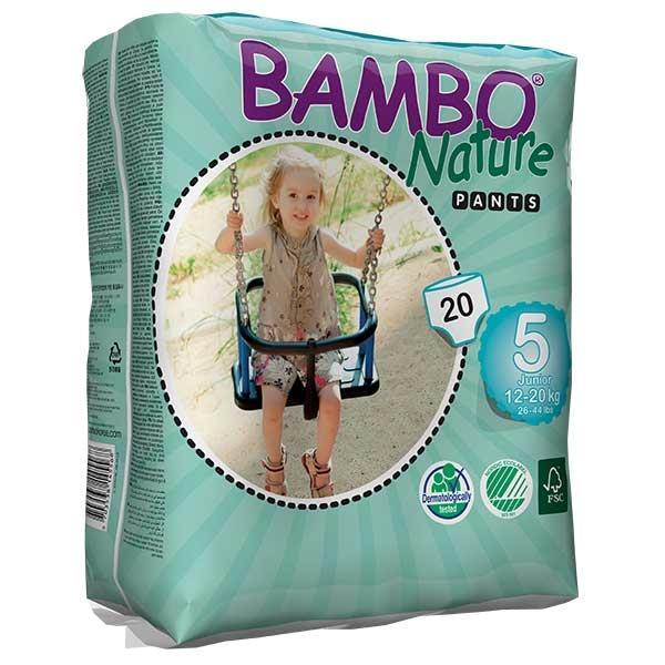 Dermacea Youth Training Pants Bambo Nature Pull On Size 5...