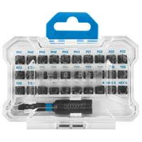 HART 31-Piece Impact Driver Bit Set with Protective Storage Case