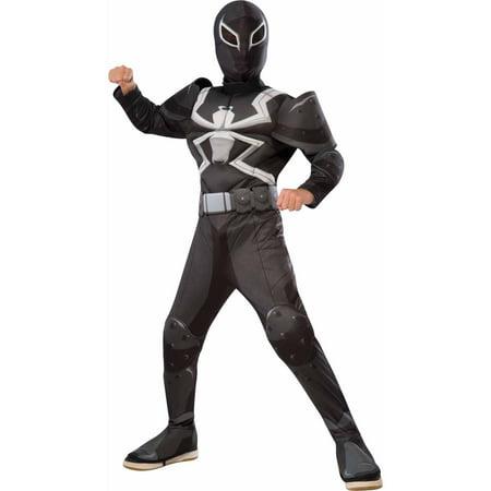Deluxe Agent Venom Child Halloween Costume
