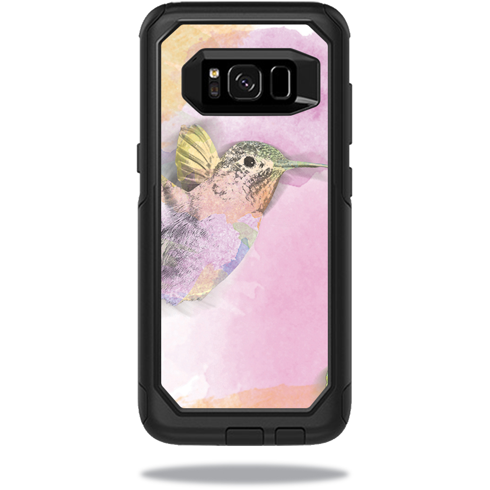 MightySkins Protective Vinyl Skin Decal for OtterBox CommuterSamsung Galaxy S8 Case sticker wrap cover sticker skins Water Color Mocking