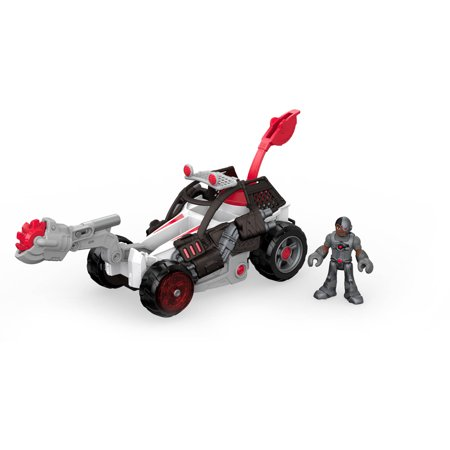 Imaginext DC Super Friends Streets of Gotham Cyborg and Saw