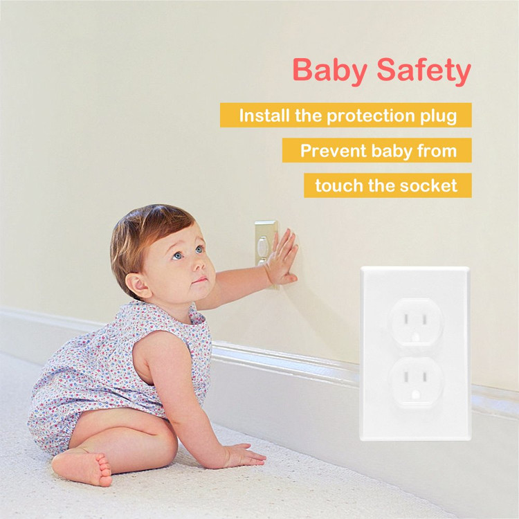 20×Baby Socket Shock Safety Plug Covers Child Protection Electrical Plugs Mains