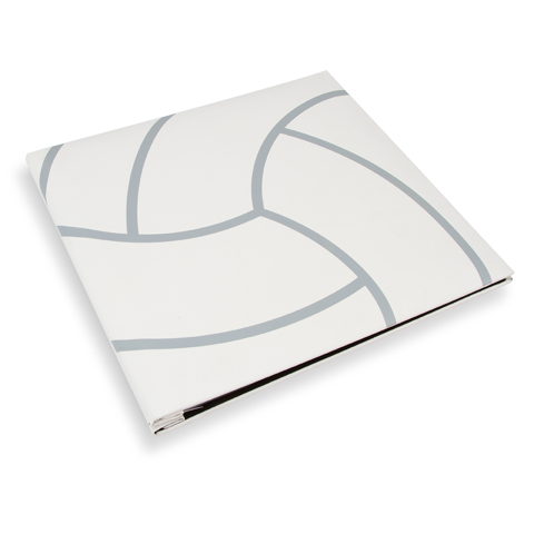 Scrapbook Volleyball Textured Cover 12X12 W5 Page Protectors