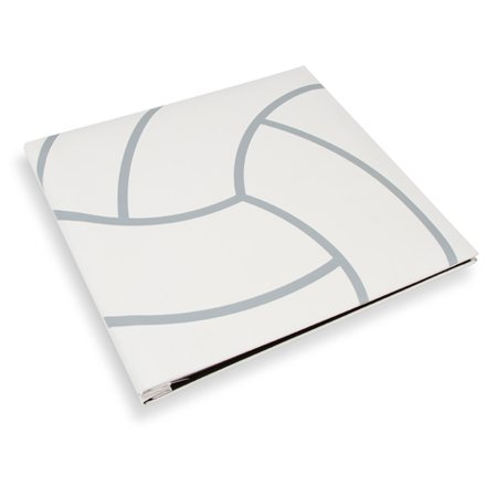 Scrapbook Volleyball Textured Cover 12X12 W5 Page Protectors (12x12 Scrapbook Paper)