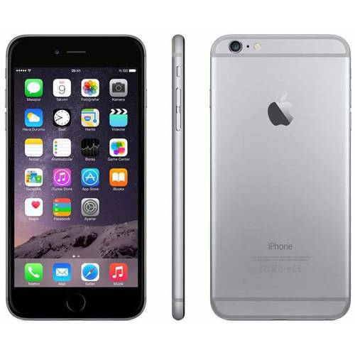 Apple iPhone 6 Plus 64GB Unlocked GSM 4G LTE Cell Phone - Space Gray