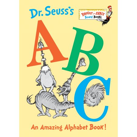 Dr Seusss ABC an Amazing Book (Board Book) (World War Ii Dr Seuss Political Cartoons)