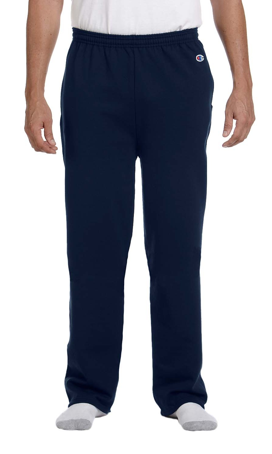 Champion Mens Eco Open Bottom Sweatpants with Pockets S-2XL   P800