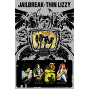 Thin Lizzy Irish Rock Metal Blues Band Music Group Jailbreak Poster Print