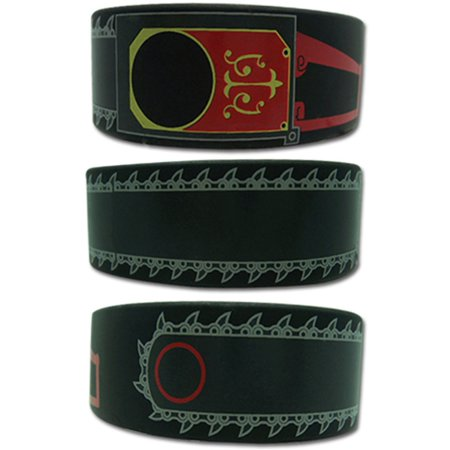Chain Wristband - Black Butler Men's  Grells Chainsaw Anime Wristband