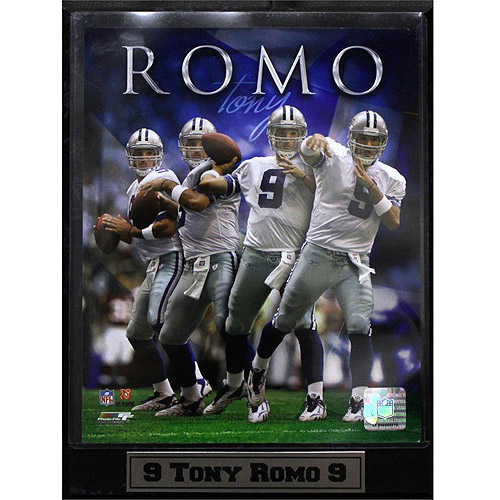 NFL Tony Romo Photo Plaque, 9x12